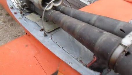 В Азовському морі прикордонники виловили збитий БПЛА