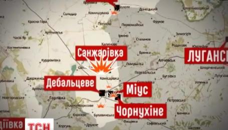 За минувшие сутки боевики 38 раз обстреляли позиции украинских военных