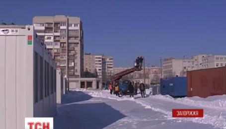 В Запорожье открыли транзитный городок для переселенцев