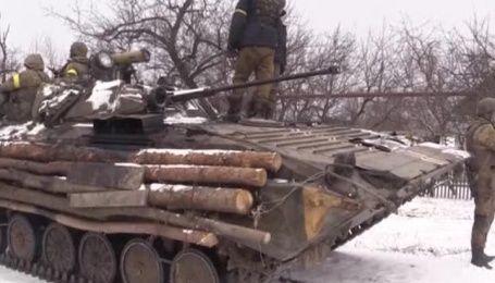 Українські військові показали свій побут поблизу Дебальцевого