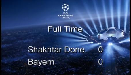Шахтар - Баварія - 0:0. Відео матчу