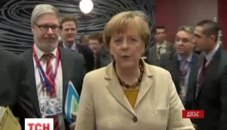 Ангела Меркель обсудит с президентом Франции ситуацию в Украине