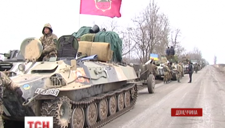 """В секторе """"С"""" началась передислокация украинских артиллерийских подразделений"""