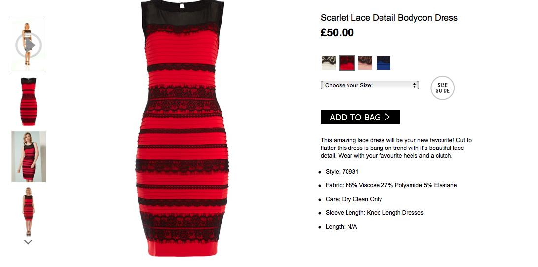 почему некоторые видят платье черным