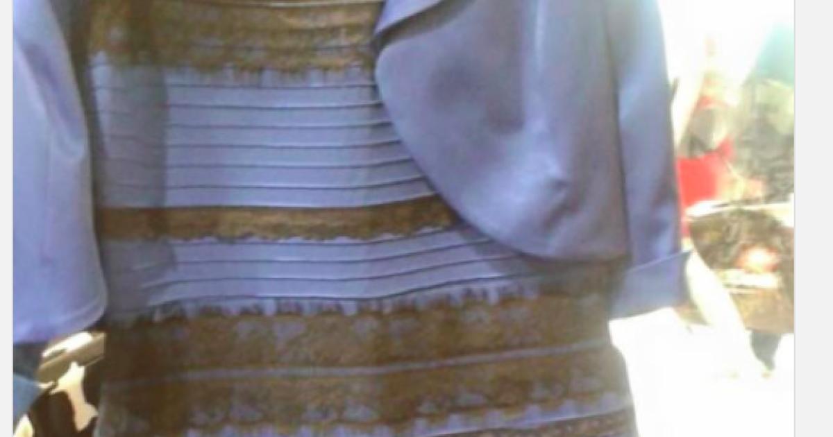 78cafc05a0a Какого цвета платье. Весь мир бросился выяснять - черно-синее или бело- золотое - Курьезы - TCH.ua