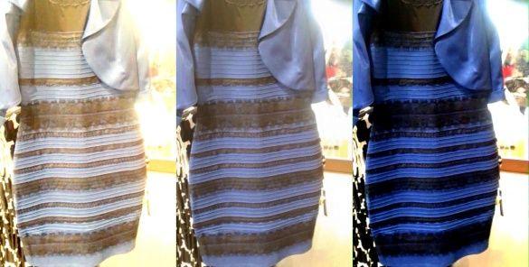3b54feecdc1 Какого цвета платье. Весь мир бросился выяснять - черно-синее или ...