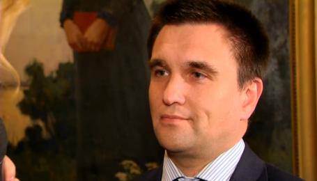 Министр иностранных дел Климкин избегает белых рубашек