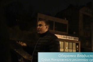 """У Києві п'яний суддя за кермом погрожував даішнику пістолетом: """"Я тебе зараз застрелю!"""""""