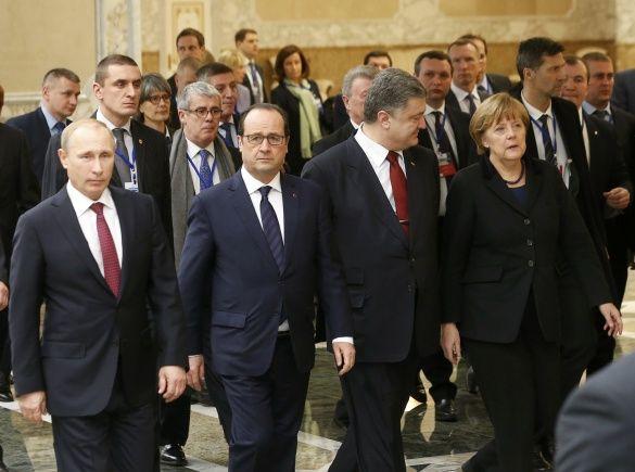 Переговори у Мінську 11 лютого
