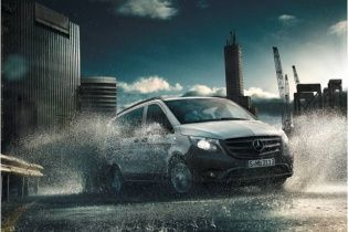 В Украине стартовали продажи нового Mercedes-Benz Vito