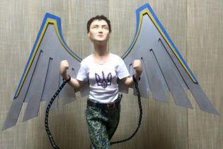 Нардеп показал в Сети уникальную статуэтку Савченко с крыльями