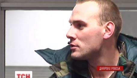 Трое раненых бойцов вернулись из Литвы в Днепропетровск после реабилитации