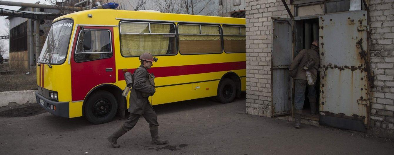 На Донбасі стався обвал у шахті, загинув гірник