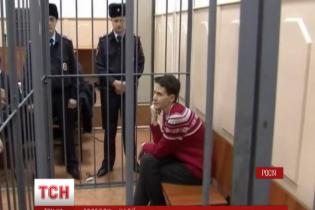 Савченко вимагає огляду українськими лікарями перед госпіталізацією