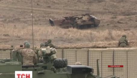 Польща та США проводять спільні військові навчання