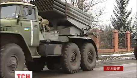 Терористи порушують режим тиші на Луганщині