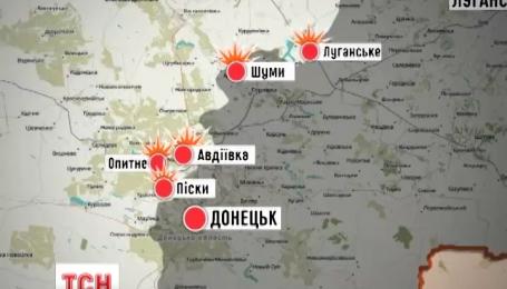 Бойовики намагаються взяти селище Широкіне
