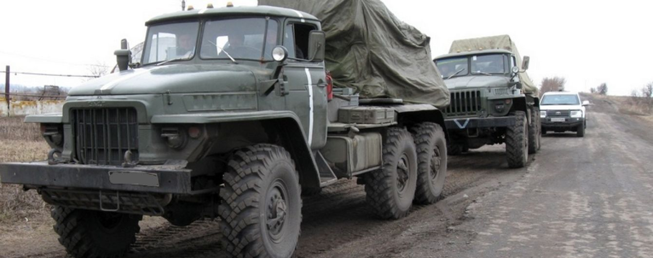 У ОБСЄ повідомили про зникнення важкого озброєння, яке відводять із зони АТО