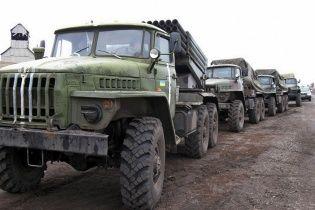 Україна здійснила чотири етапи відведення важкого озброєння
