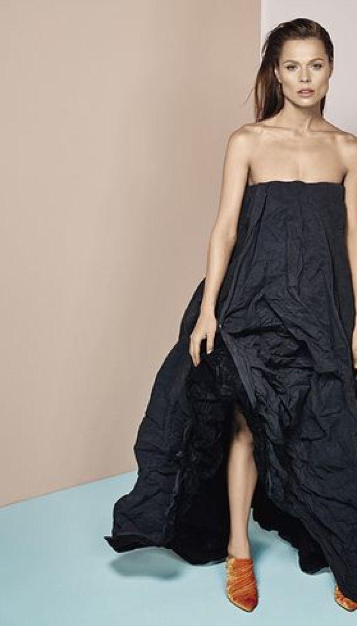 Ольга Фреймут для журнала Vogue, фото: Дмитрий Гончаров @ vogue.ua