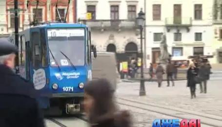 Безбилетные пассажиры львовских трамваев имеют тайные пароли