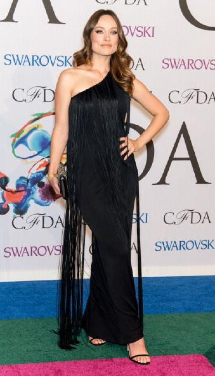 Оливия Уайлд на CFDA fashion awards, июнь 2014 @ Getty Images/Fotobank