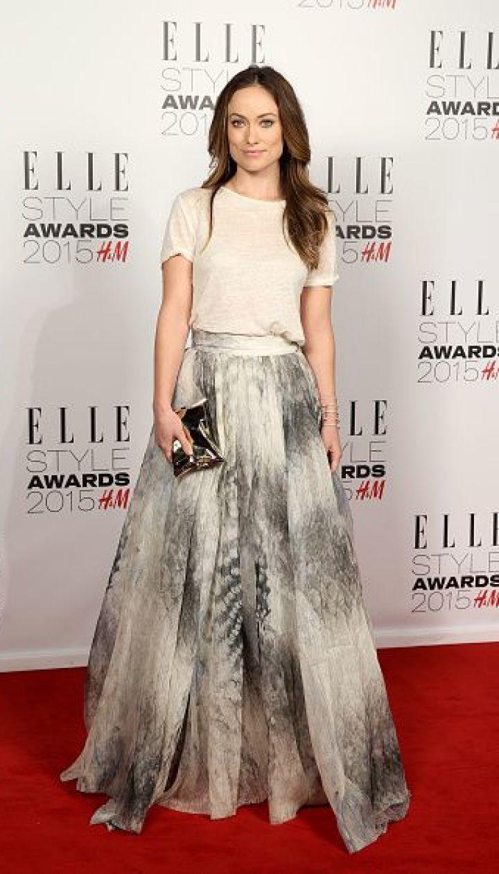 Оливия Уайлд на церемонии Elle Style Awards 2015 @ Getty Images/Fotobank
