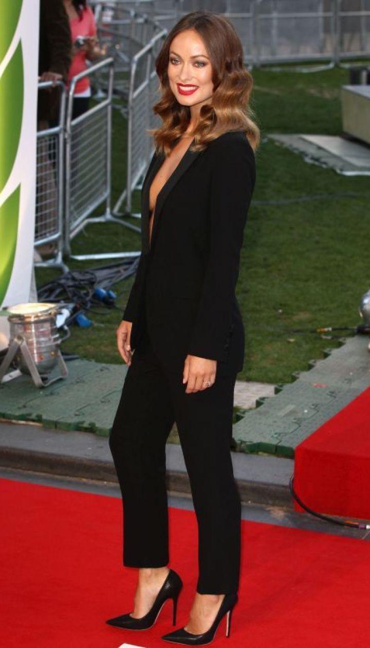 """Оливия Уайлд на премьере фильма """"Гонка"""" в Лондоне, сентябрь 2013 @ Getty Images/Fotobank"""