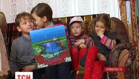 Многодетная семья россиян с Дальнего Востока переехала в Прикарпатье