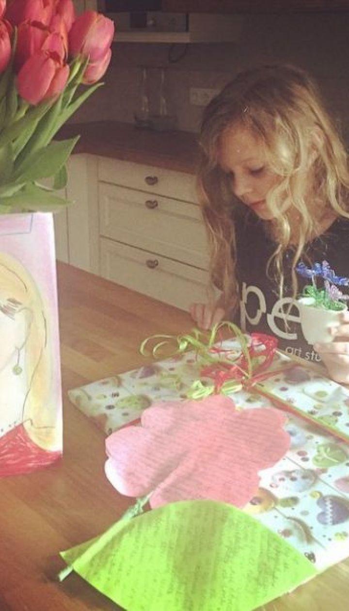 Дочь Оли Фреймут - Злата @ Instagram
