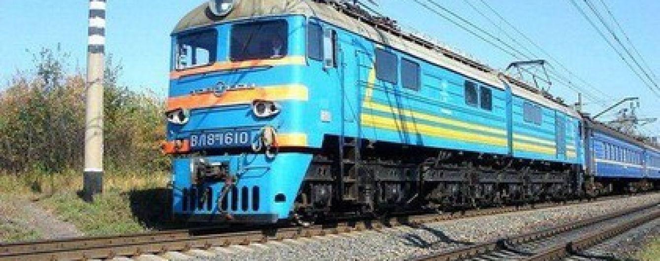 У пасажирському поїзді на Миколаївщині загорівся локомотив