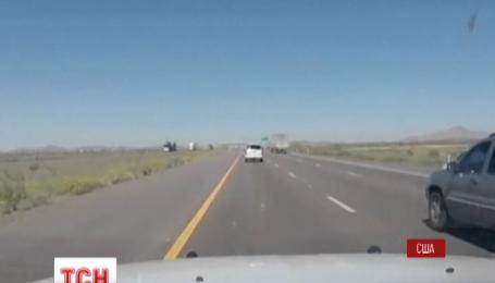 Поліція штату Аризона оприлюднила відео погоні за наркоторговцями