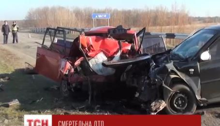 Чотири людини загинули внаслідок ДТП в Запорізькій області