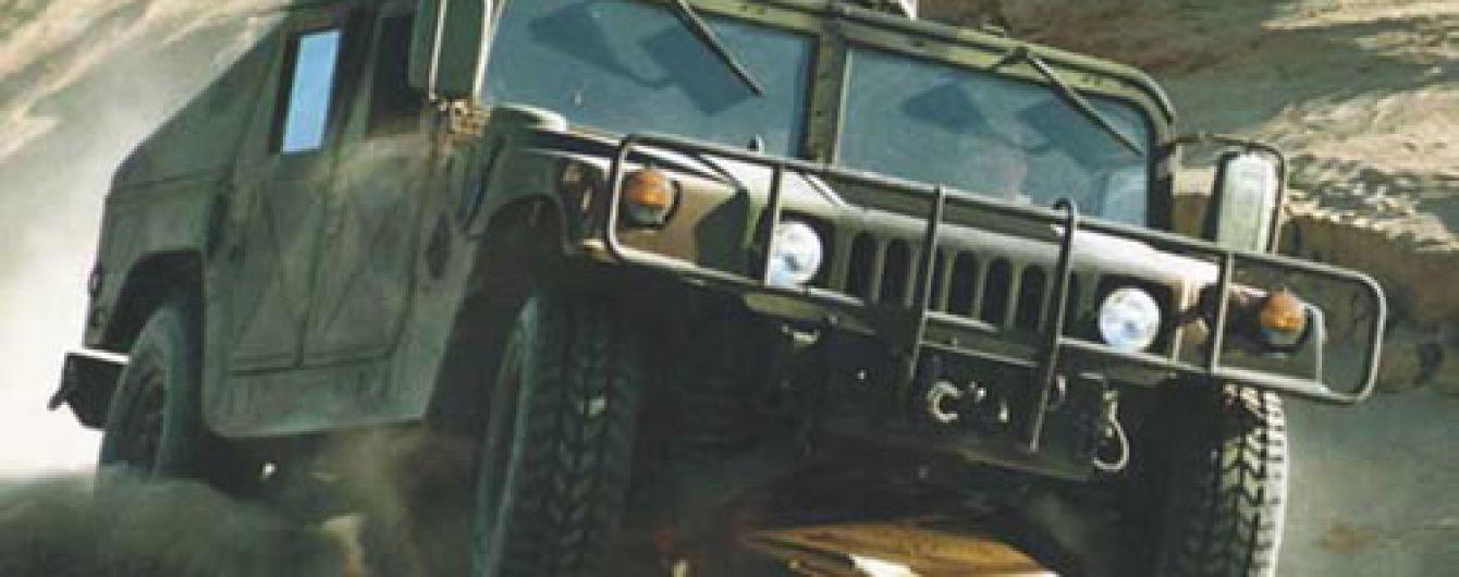 США нададуть Україні ще 100 броньовиків Humvee