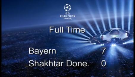 Баварія - Шахтар - 7:0. Відео матчу