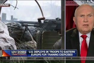 """Отставной американский генерал в эфире Fox News призвал """"убивать русских"""" на Донбассе"""