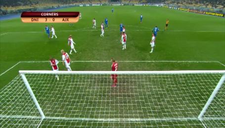 Дніпро - Аякс - 1:0. Відео матчу
