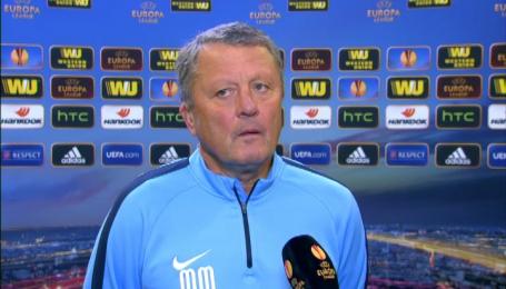 Маркевич нервував через жовті картки гравців Дніпра у матчі з Аяксом