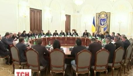 СНБО обсудил укрепление границы с Россией