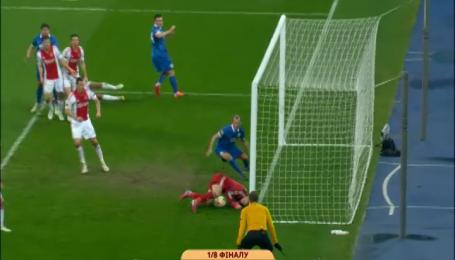 Дніпро - Аякс - 1:0. Відео-аналіз матчу
