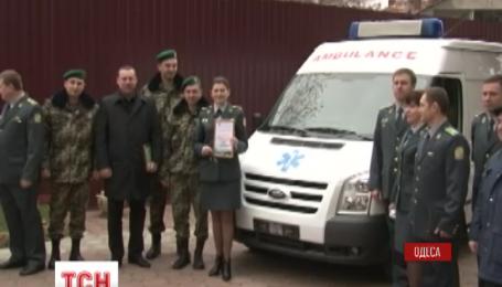 Одесский клинический госпиталь Госпогранслужбы приобрел реанимобиль