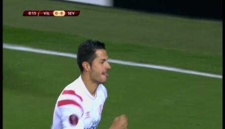 Витоло забивает самый быстрый гол в истории Лиги Европы
