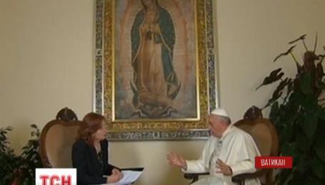Папа Римський Франциск натякає на можливу відставку