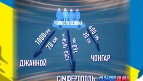 Сколько стоит такси в Крым