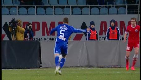 Динамо - Ильичевец - 5:0. Видео супергола Антунеша