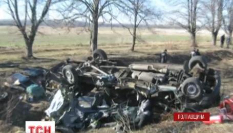 Семь человек погибли в ДТП на Полтавщине