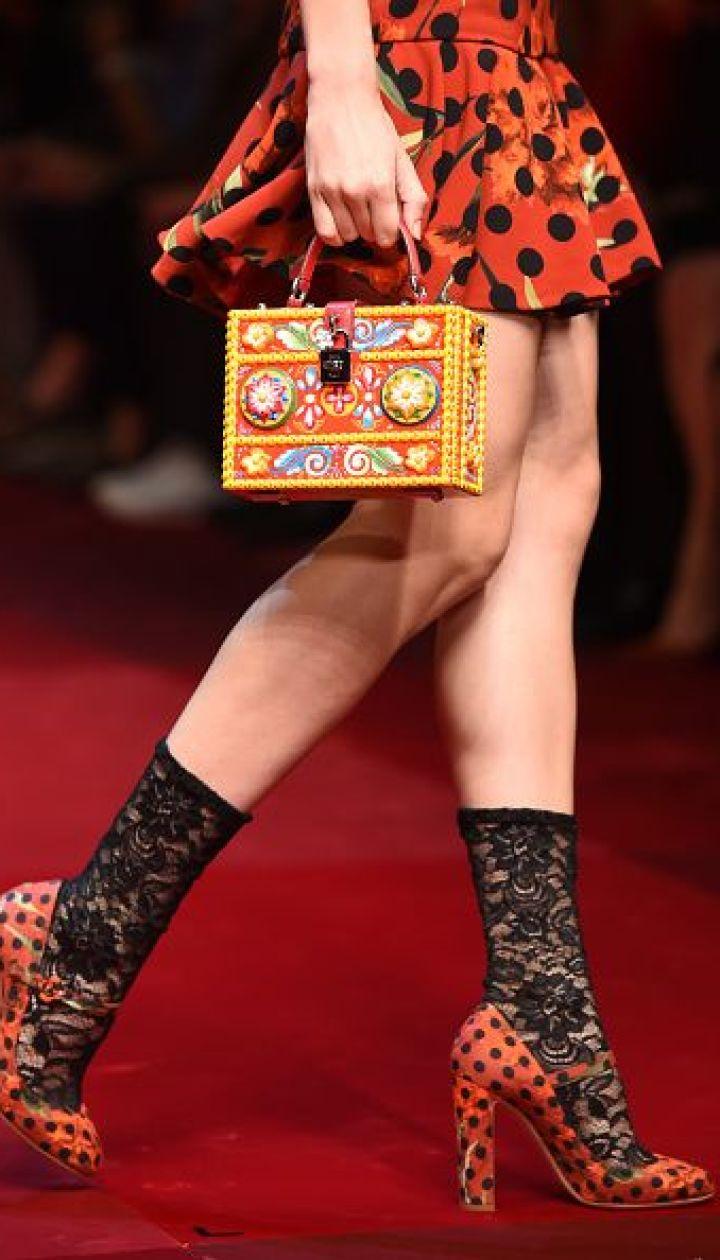 Dolce & Gabbana прет-а-порте сезона весна-лето 2015 @ Getty Images/Fotobank