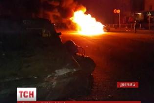 Подробности ночных беспорядков в Константиновке: толпа крушила машины и требовала самосуда