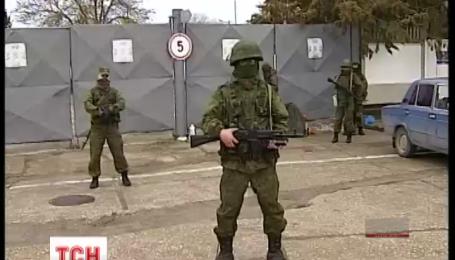 В Крыму остались пять тысяч украинских военных-предателей