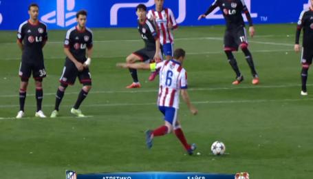Атлетико - Байер - 1:0 (3:2 по пенальти). Видео-анализ матча